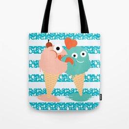 You, me and ice cream Tote Bag