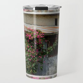 RUSTIC FRONT PORCH IN NEPALI BLOOM Travel Mug