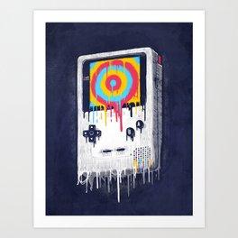Gaming Art Print