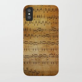 Yesterday's Music iPhone Case