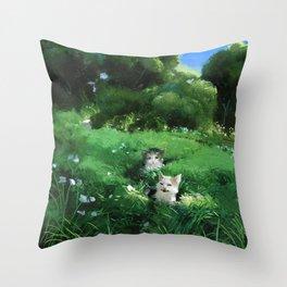 Internet Cats Throw Pillow