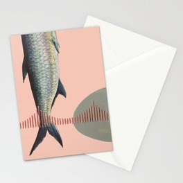 Golden Gate Fish Stationery Cards