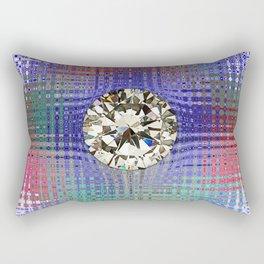 Diamond in Multi-Coulors Rectangular Pillow