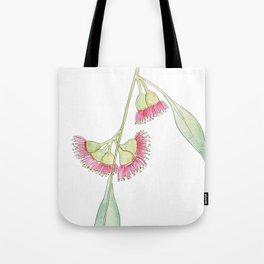 Gum Tree Flowers Tote Bag