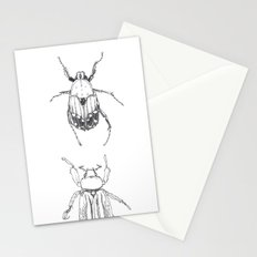 June Beetles Stationery Cards