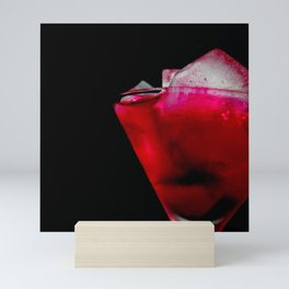 Refreshing Red and Pink Cocktail Mini Art Print