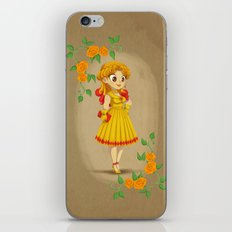 Retro Sailor Galaxia iPhone & iPod Skin