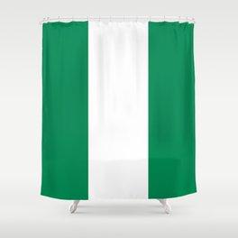 Flag of Nigeria - Nigerian Flag Shower Curtain
