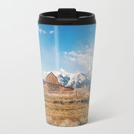 The Grand Tetons Travel Mug