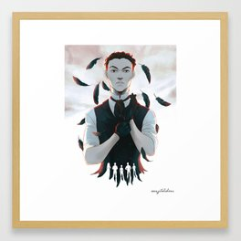 Six of crows Framed Art Print