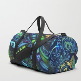 Dragonfly by Laura Zollar Duffle Bag