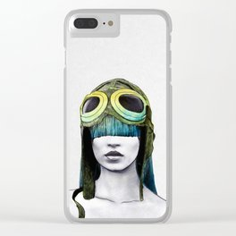 Kate As Amelia Clear iPhone Case