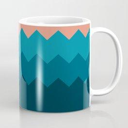 Flat Beach palette Coffee Mug