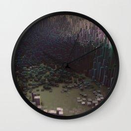3d landscape Wall Clock