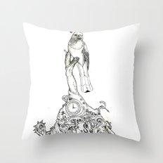 Bird Thought 1 Throw Pillow