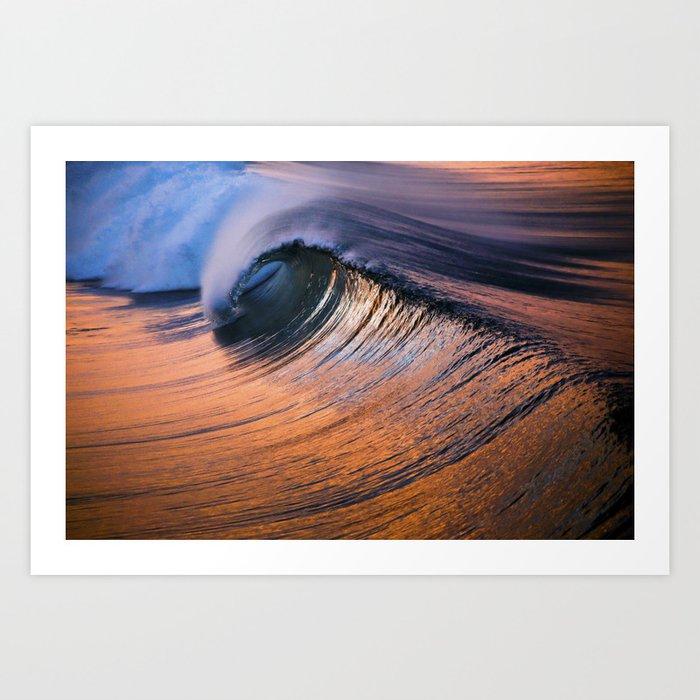 HB Sunrise Barrel   9/11/15 Art Print