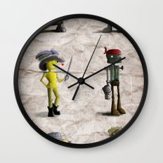 The Crew Wall Clock