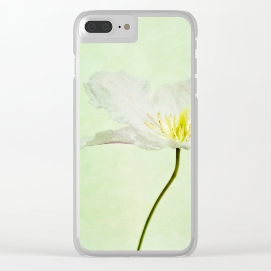 A FLOWER II Clear iPhone Case
