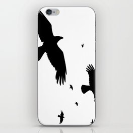A Murder Of Crows iPhone Skin
