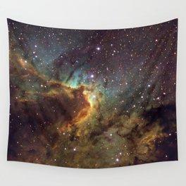 Cave Nebula SH2-155 Wall Tapestry