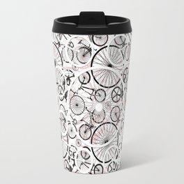 Bicycle Pattern Fun Travel Mug