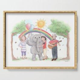 Sharon, Lois & Bram - The Elephant Show Serving Tray