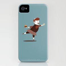 Libertarian Swan iPhone (4, 4s) Slim Case