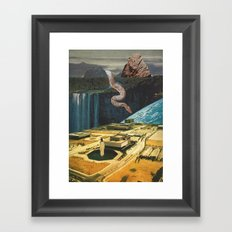 snake in the grass (with mariano peccinetti) Framed Art Print