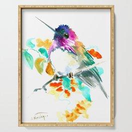 Cute Little Hummingbird Serving Tray