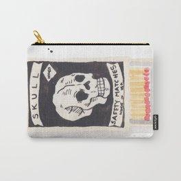 Skull Matchbox Carry-All Pouch