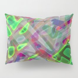Colorful Abstract Stained Glass G300 Pillow Sham
