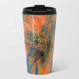 Floral abstract(43) Travel Mug