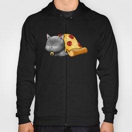Purrpurroni Pizza Hoody