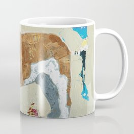 English Bulldog Abstract Art Coffee Mug