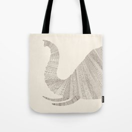 Elephant (On Paper) Tote Bag