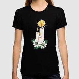 Vintage Christmas Candles T-shirt