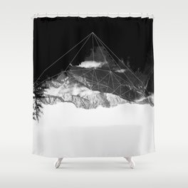 Crystal Mountain Shower Curtain