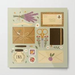 Snail Mail Metal Print