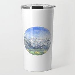 Valley Camping Travel Mug