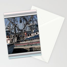 FISHING BOATS VISE A VERSA Stationery Cards