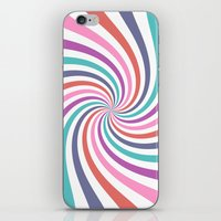 carnival iPhone & iPod Skins featuring Carnival by The Nostalgic Whim