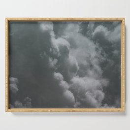 Clouds in the Sky Serving Tray