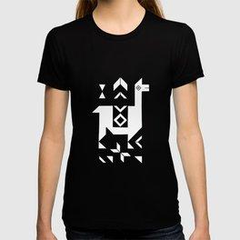 Llamas_Pink and BlueSky T-shirt