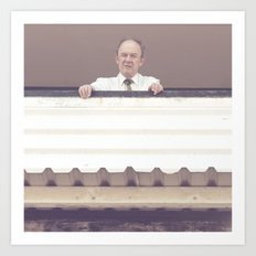 will the real gene hackman please stand up?.. Art Print