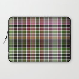 Pink Roses in Anzures 5  Plaid 2 Laptop Sleeve