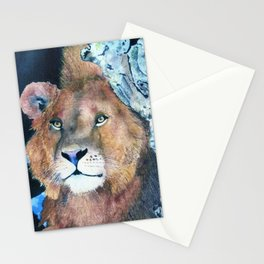 Ever Watchful by Maureen Donovan Stationery Cards