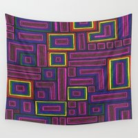 acid Wall Tapestries featuring Acid Trip by Sarah J Bierman