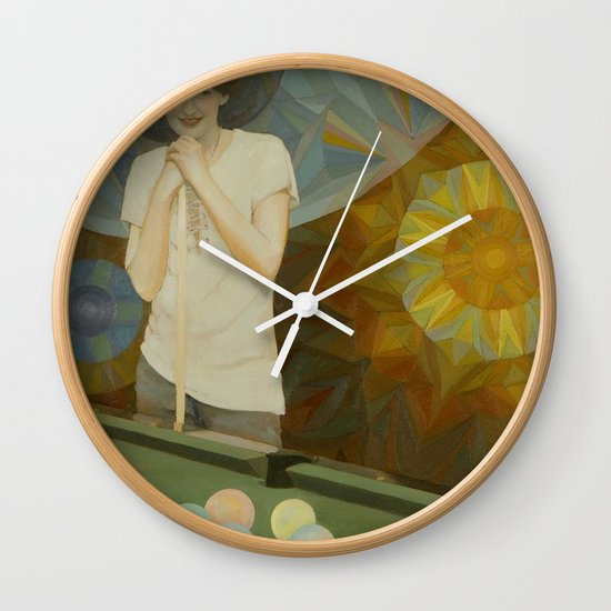 The Next Move Wall Clock