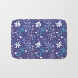 Blue Summer Bath Mat