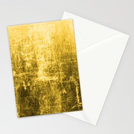 SunYellowTextured & Distressed Design Stationery Cards